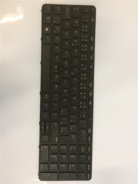 HP Notebook Keyboard 650 G2 Czech/Slovakia Backlight/Pointingstick