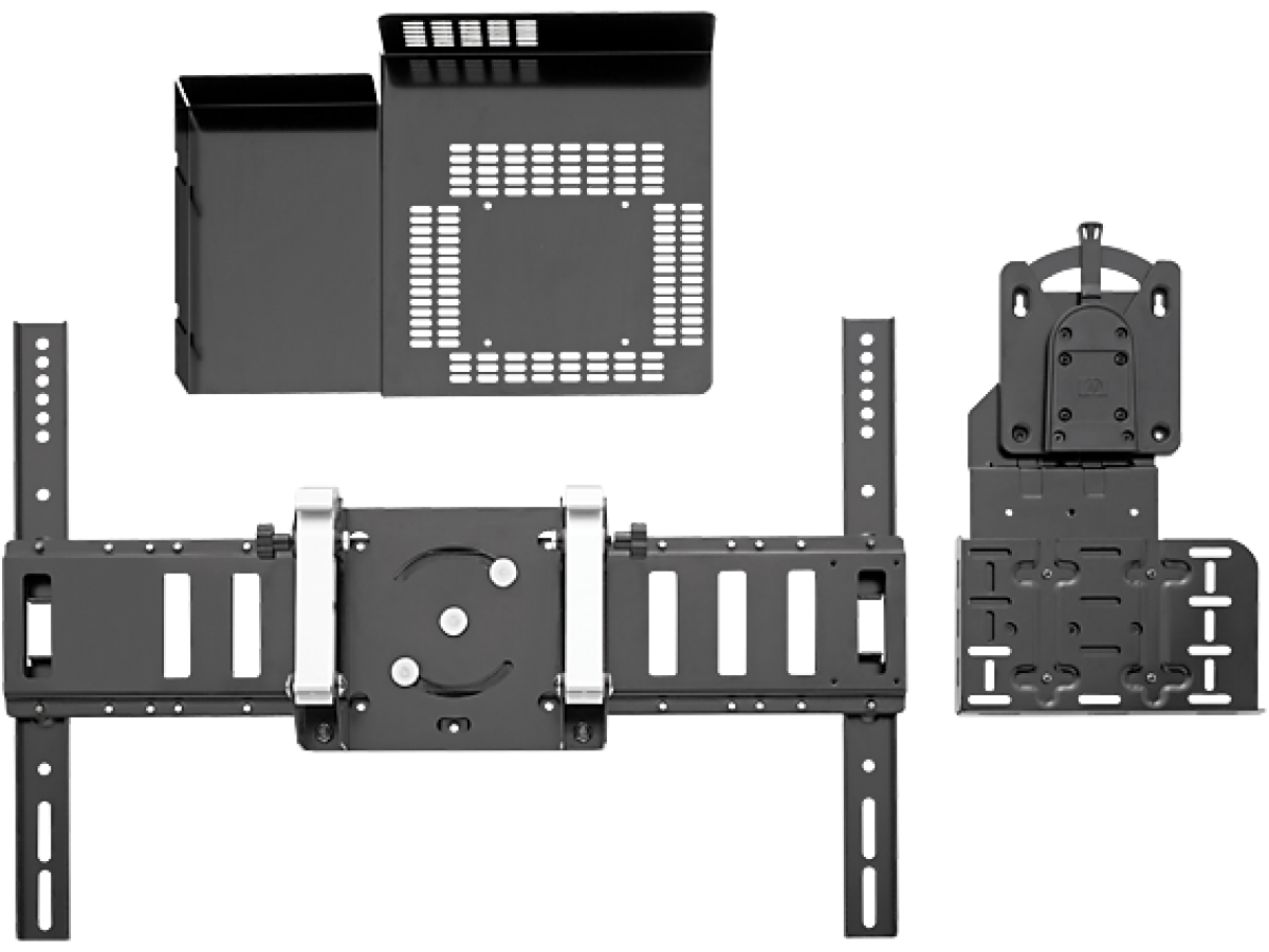 HP Digital Signage Wall Mount Solution with Quick Release and Security Plate Renew