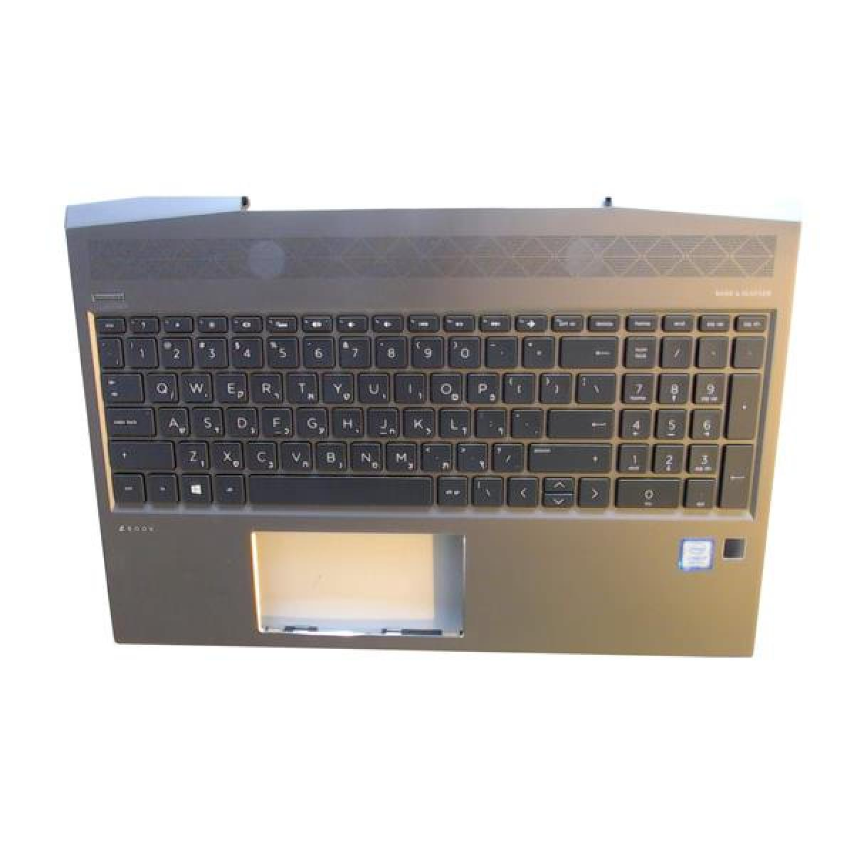 HP Notebook Cover inkl. Keyboard ZBook 15v G5 BL Israel