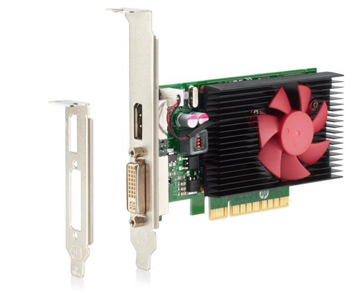 HP Nvidia GeForce GT730 GFX, 2GB Grafikspeicher, PCIe x8