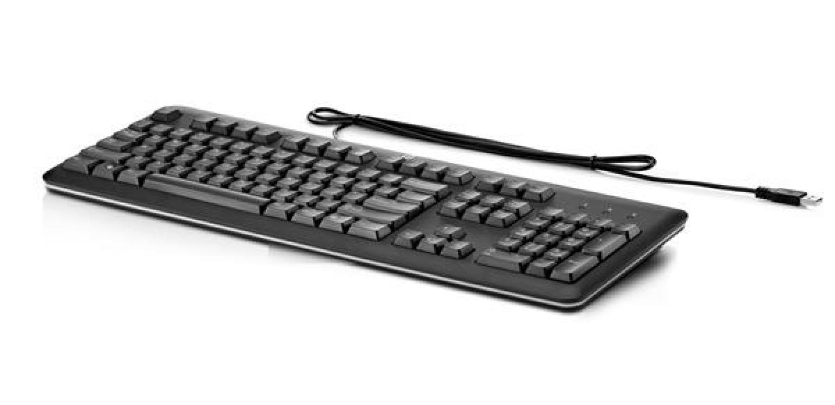 HP USB Keyboard International Neugerät